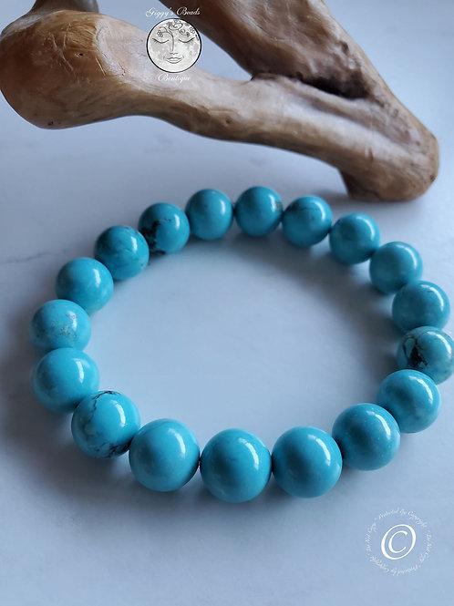 Sky Blue Turquoise Bracelet
