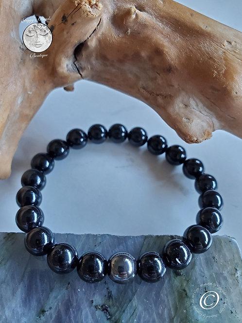 Onyx with Hematite bead Bracelet