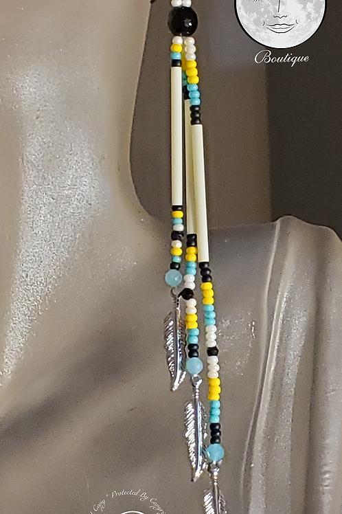 XLSplash of Colour Earrings Amazonite