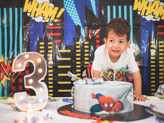 Zaiden Turned 3!