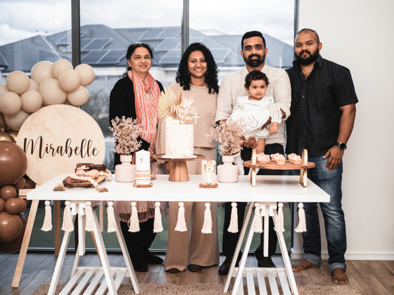 Baby Mirabelle Turns ONE