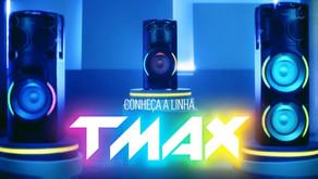 Panasonic lança campanha para TMAX, sua nova e potente torre de som