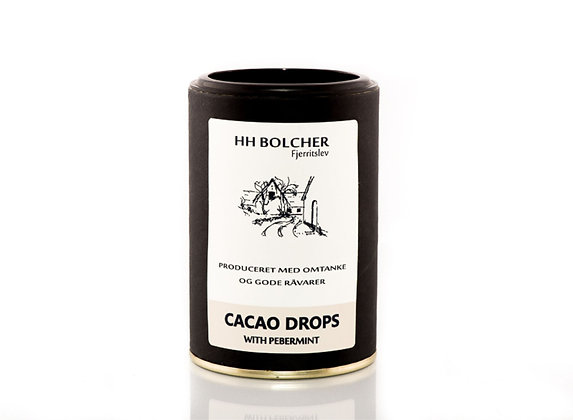 CACAO DROPS/ with Peppermint