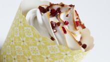 "Chokoladecupcakes med en surprice af hindbær & ""Cacao Drops with Cacao"""