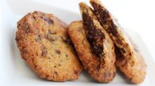 "Triple Chocolate Cookies med karamel & ""Liquorice drops with seasalt"""