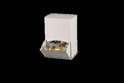 Emballage hvid udtræksæske