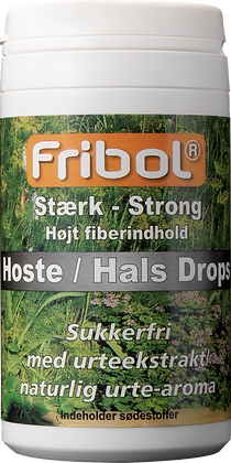 HOSTE/HALS DROPS GRØN, STÆRK