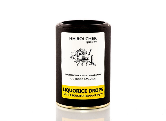 LIQURICE DROPS /With a touch of banana taste