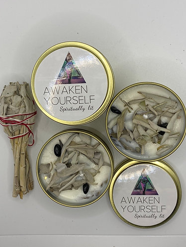 Sage Smudge Candle