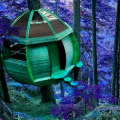 Treetop pods in Book 8