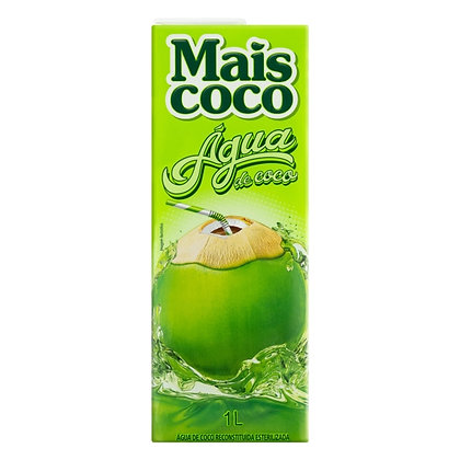 Água de Coco Esterilizada Mais Coco 1L