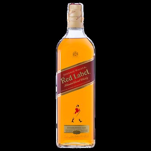Whisky Escocês Blended Red Label Johnnie Walker 1L