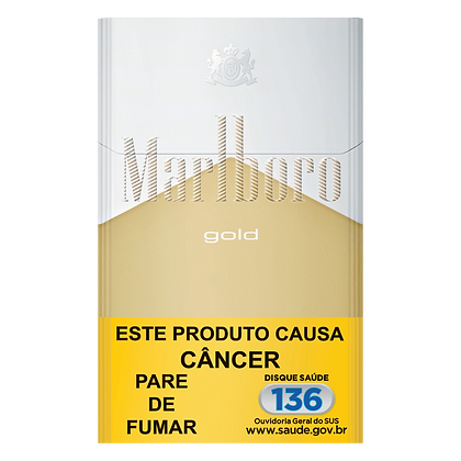 Cigarro Gold Marlboro Box