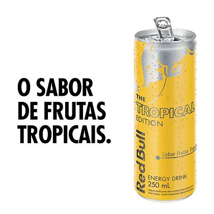 Energético Frutas Tropicais Red Bull Lata 250ml The Tropical Edition