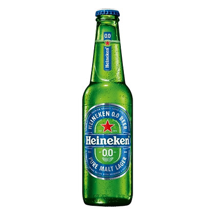Cerveja Heineken 0.0 Long Neck 330ml