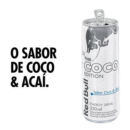 Energético Coco e Açaí Red Bull Lata 250ml The Coco Edition