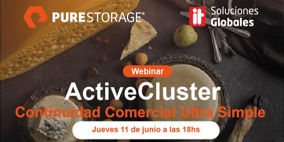 """Webinar Purestorage """"ActiveCluster"""""""
