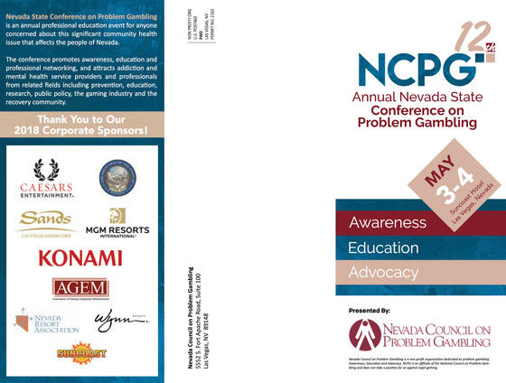 Annual Nevada State Conference on Problem Gambling