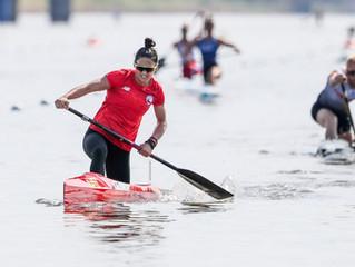La Chilena M. José Mailliard usó su experiencia como nadadora en aguas abiertas para ser campeona