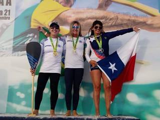 Chilenos lograron medallas en Sudamericano de Canoa Polinésica en Cabo Frío, Brasil
