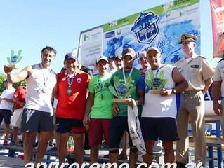 Rodrigo González logró un 3º puesto en la maratón de canotaje más larga del Mundo