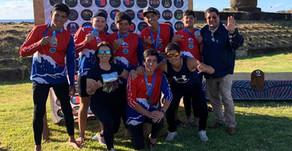 Club Here Taina Va'a logró medallas para Chile en el Panamericano de Rapa Nui