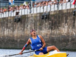 Uzbekistán celebra el primer oro en canoa en un evento olímpico y Rossi emocionó a toda la Argentina
