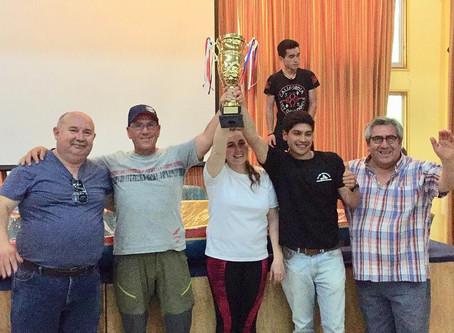 Palistas dieron todo por un pasaje al Sudamericano de Canotaje en Argentina.