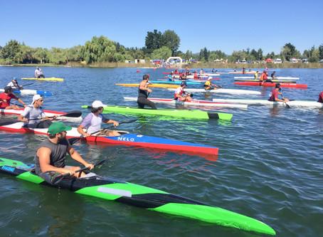 Masiva participación de Kayaks y Canoas, dieron vida a la IV versión de la Maratón de Canotaje Quill