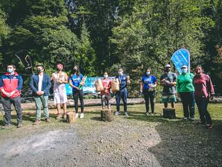 Rio Liucura de Pucón fue el epicentro del Canotaje Slalom, con competidores de todo Chile