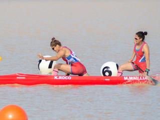 Gran actuación del Canotaje Chileno en los Juegos Cochabamba 2018
