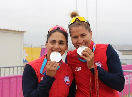 Dos Medallas de Plata marcaron la participación del Canotaje Chileno en los Juegos Panamericanos de