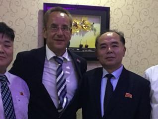 Vicepresidente de ICF confía en el futuro del equipo conjunto en botes de dragón de Corea