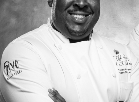 Welcome chef Terence tarver to the HIS team