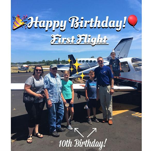 Birthday Flight June 2019