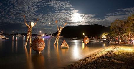 Full Moon Trellis Bay