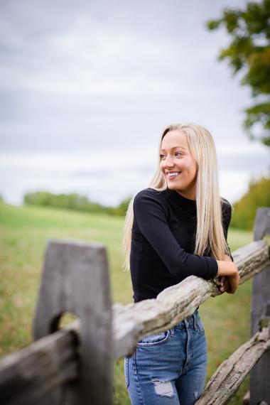 Vermont Senior Photographer