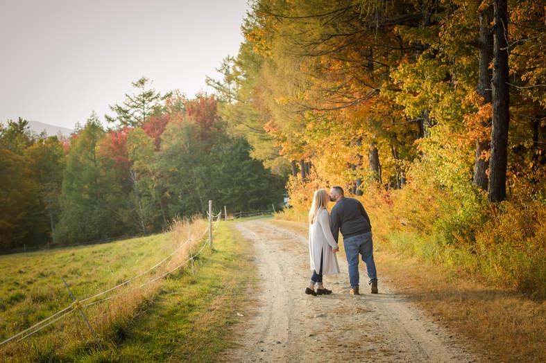 Vermont Engagement Photographer