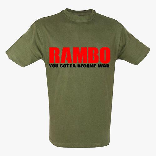 Rambo War TShirt
