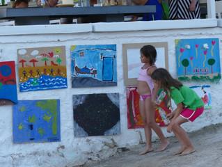 Περιμένουμε τα έργα σας για την 6η Yπαίθρια Έκθεση Παιδικής Ζωγραφικής του Παιδικού Φεστιβάλ των Κυκ