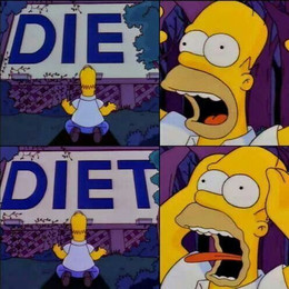 """Por qué es necesario que elimines la palabra """"dieta"""" de tu vocabulario"""