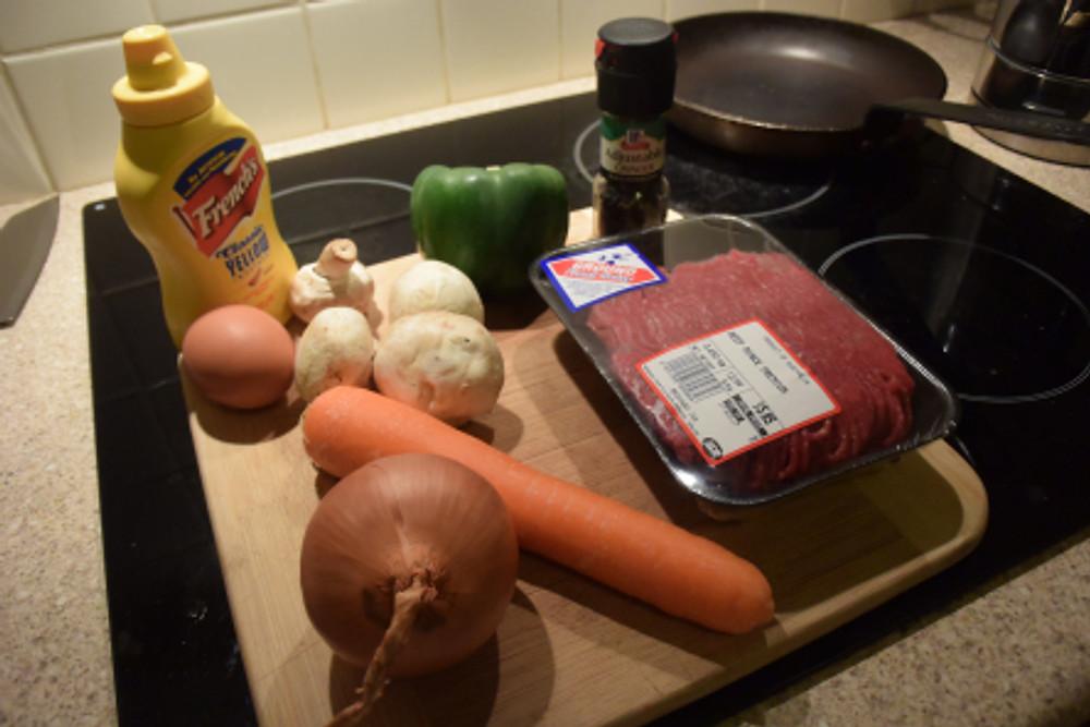 Ingredientes hamburguesa saludable ISN