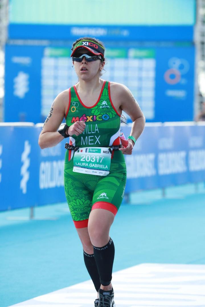 Gaby Villa Running