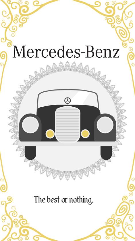 Mercedes Branding Concept