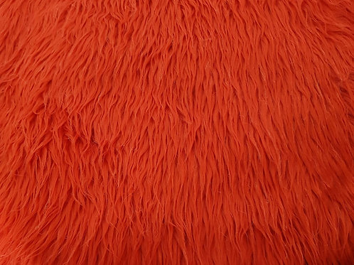 Red 2 inch fur