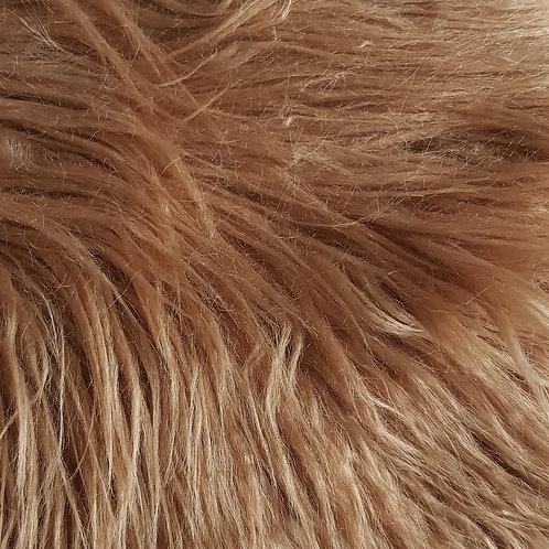 Pale chestnut 3 inch fur
