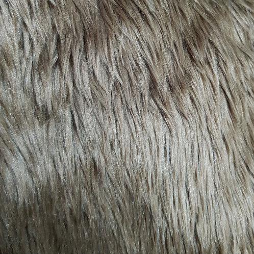 Dark brown 2 inch fur