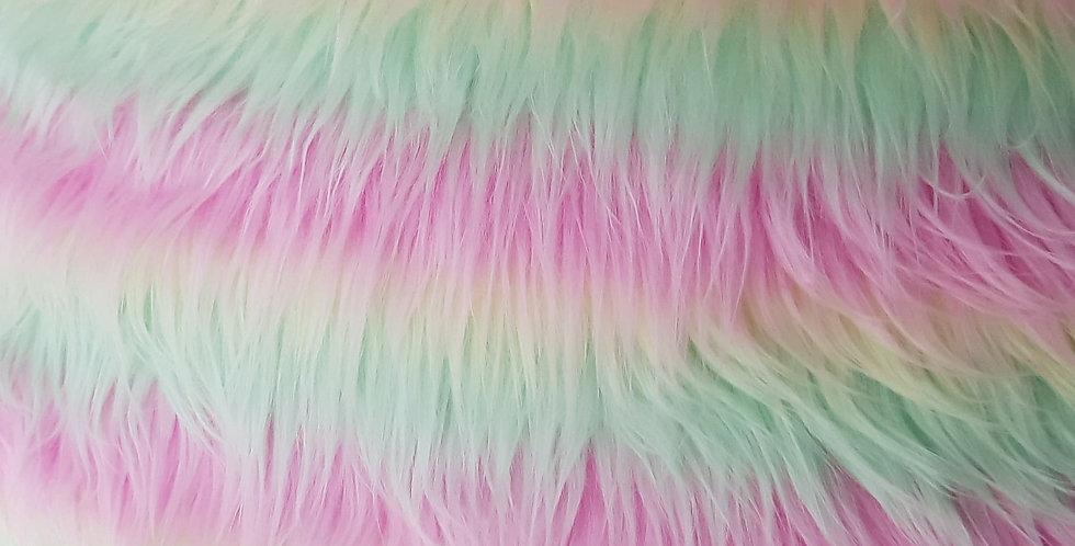 Pastel mix 2 inch fur