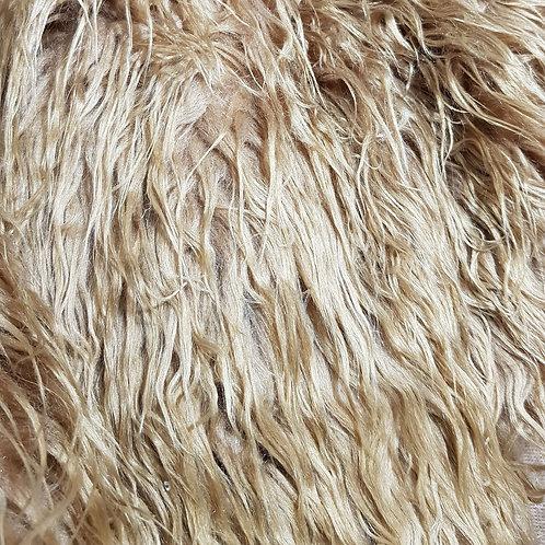 Mid brown 2 inch fur