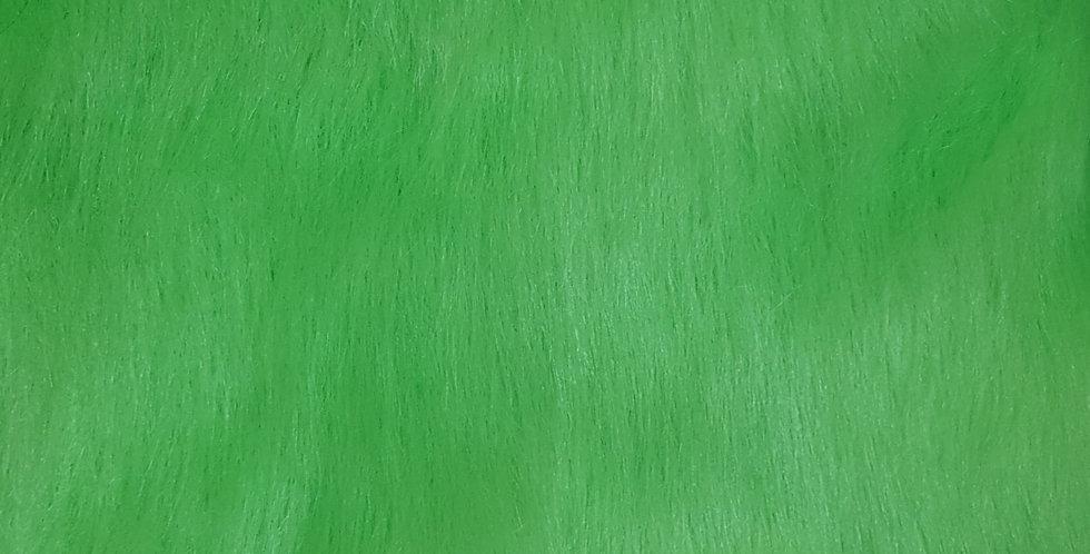 Green 2 inch fur
